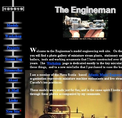 My (old) Engineman Site